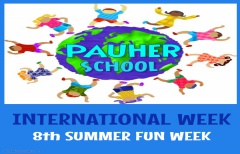 INTERNATIONAL WEEK / 8th SUMMER FUN WEEK